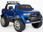 Ford Ranger Wildtrak Jeep Licensed 24v Battery Electric 4wd Ride On Toy Car Blue